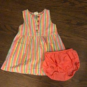 Little Poppy Co Rainbow Dress